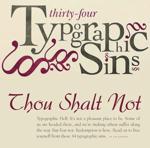 7 typography sins