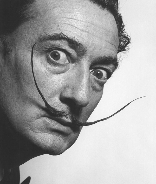 Salvador Dalí in 1954
